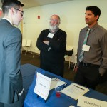 People talking at 3rd Annual Externship Expo