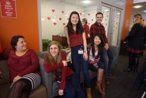 Students at 13th Annual National Wear Red Day for Women