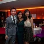 studnets pose at the Eyeball 2016 party