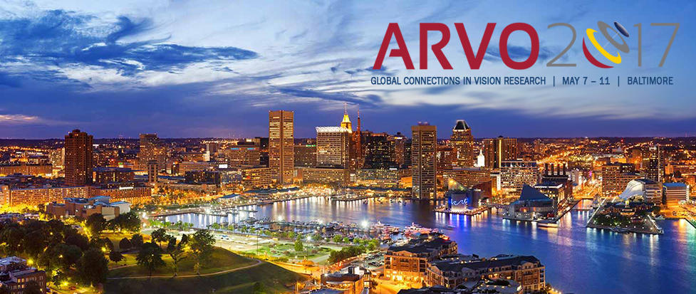 Arvo logo with Baltimore in background