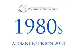 1980s alumni reunion 2018
