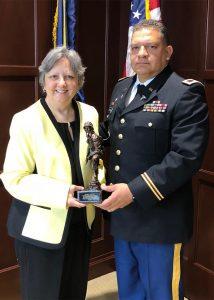 Dr. Diane T. Adamczyk receives award