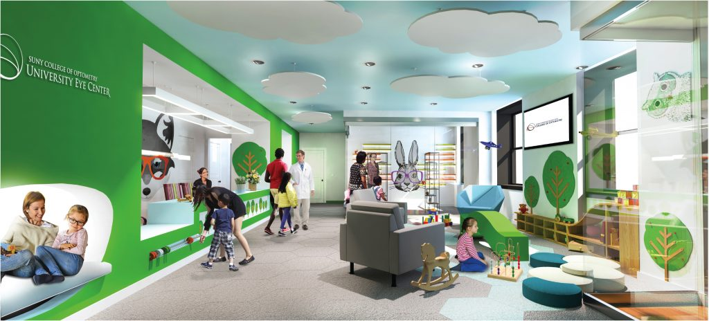 Rendering of Pediatric section