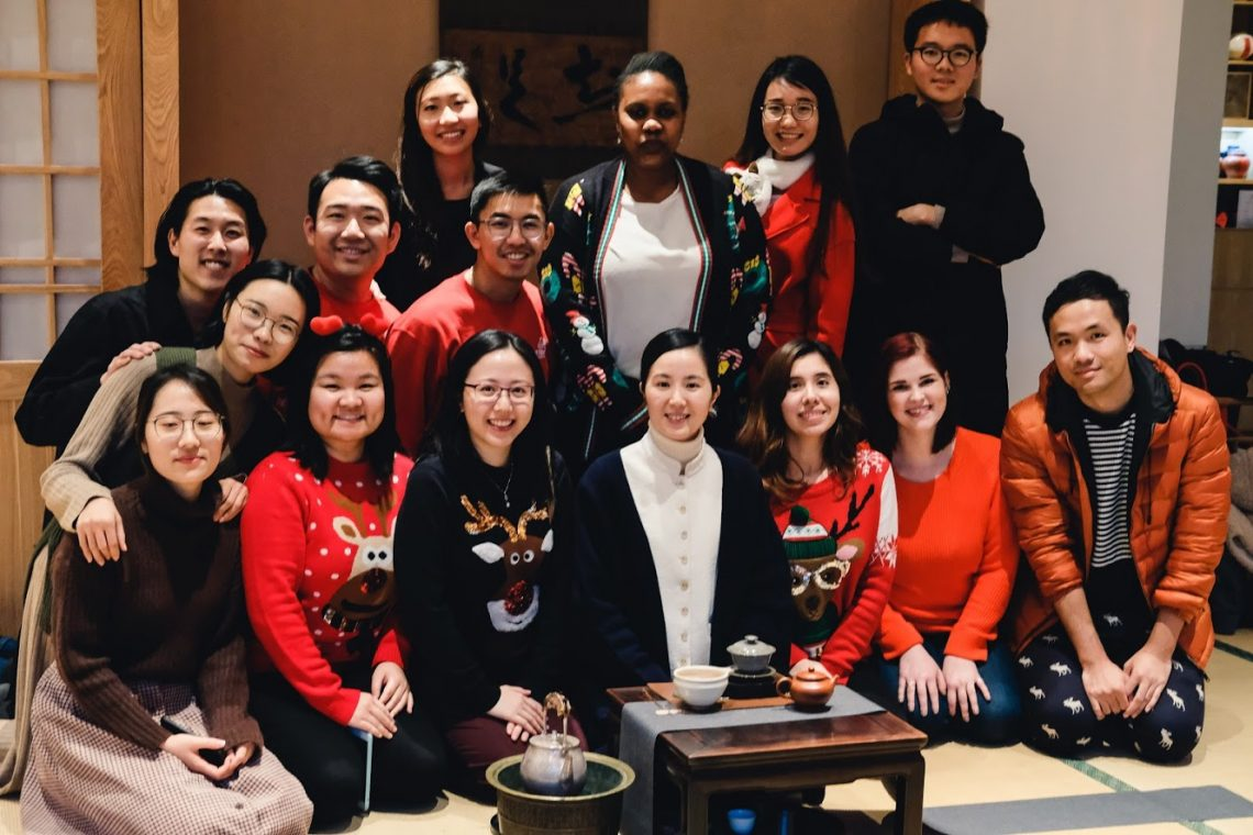 SUNY Optometry China Winter Camp participants