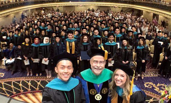 Dr. David Tai's 2018 commencement selfie