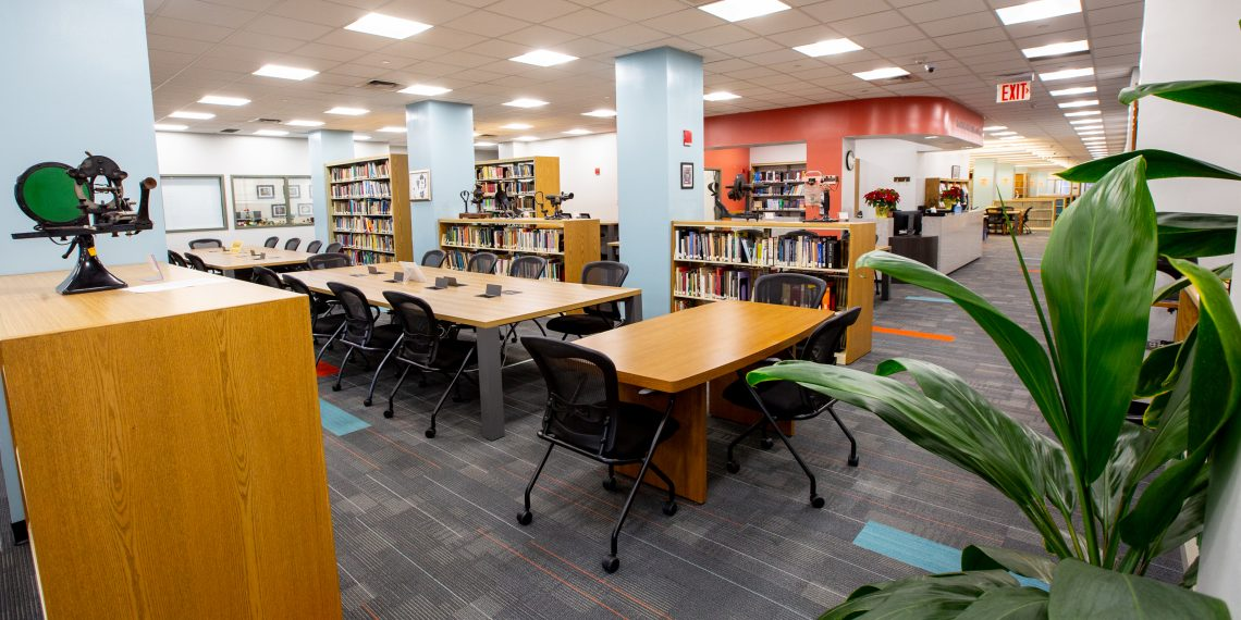 The Harold Kohn Vision Science Library at SUNY Optometry