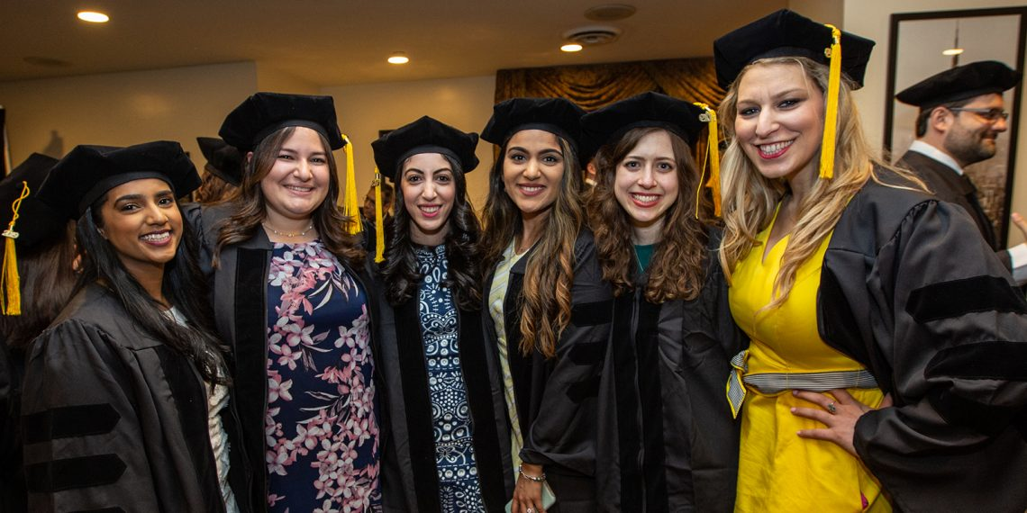 Members of SUNY Optometry's Class of 2019, The Roosevelt Hotel, Manhattan, May 23, 2019